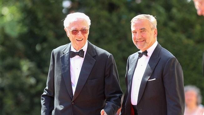 El duc Francesc de Baviera amb el seu novio, Thomas Greinwald / El duque Francisco de Baviera con su novio Thomas Greinwald