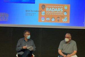 Els presidents el GAG, Benito Eres i de la Fundació Enllaç, Ricardo de la Rosa